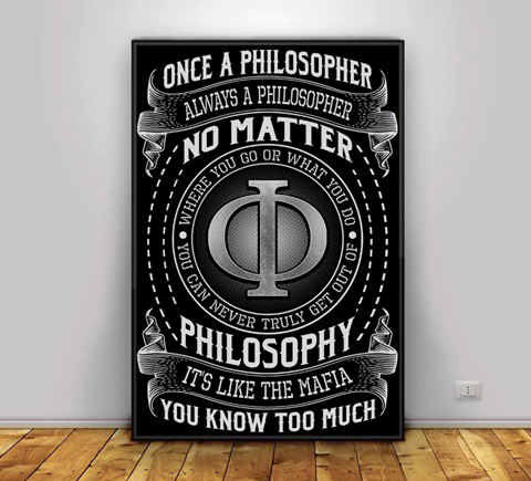 Raz filozofom, navzdy filozofom