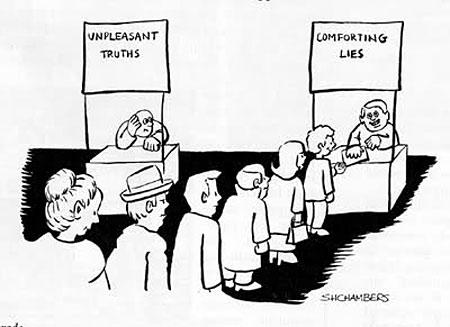 Najťahšie sa počúva pravda